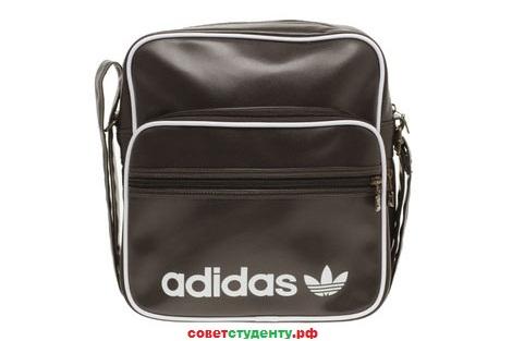 Лучший вариант для студента - это небольшая стильная сумка.